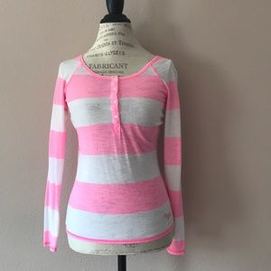 Victoria's Secret pink long sleeve tee